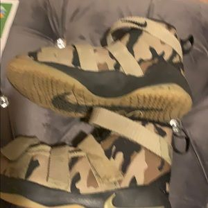 Army style Nike sneaker size 3